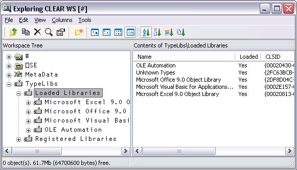 Browsing Type Libraries